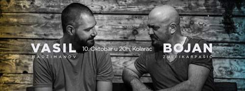 BOJAN ZULFIKARPAŠIĆ I VASIL HADŽIMANOV: Klavirski duo ponovo zajedno! | Kolarac (BG) i Sinagoga (NS) | 2015